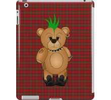 Cute Punk Rocker Teddy Bear iPad Case/Skin
