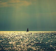 sailing on a sea of gold by mkokonoglou