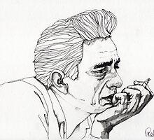 Johnny Cash by Paul  Nelson-Esch