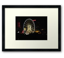 SkyWheel Clifton Hill Niagara Canada Framed Print