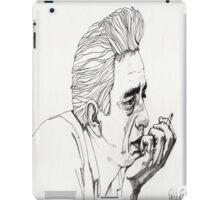 Johnny Cash iPad Case/Skin