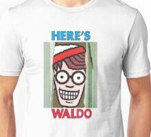 Here's Waldo Unisex T-Shirt