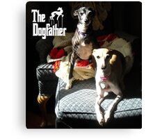 The Dogfather Canvas Print