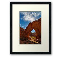Broken Bow Arch Framed Print