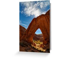 Broken Bow Arch Greeting Card