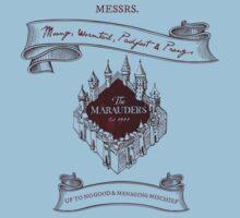 Marauders - Up to No Good & Managing Mischief Since 1971 Kids Tee