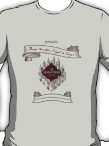 Marauders - Up to No Good & Managing Mischief Since 1971 T-Shirt