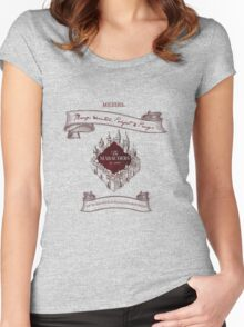 Marauders - Up to No Good & Managing Mischief Since 1971 Women's Fitted Scoop T-Shirt