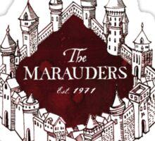 Marauders - Up to No Good & Managing Mischief Since 1971 Sticker