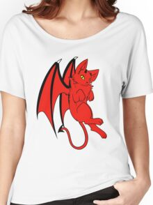 Devil Kitty Women's Relaxed Fit T-Shirt