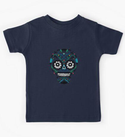 Sugar Skull SF multi om white Kids Clothes