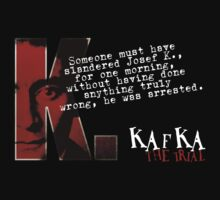The Trial inspired Franz Kafka Tee by OutlawOutfitter
