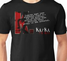 The Trial inspired Franz Kafka Tee Unisex T-Shirt