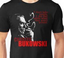 Poet & Author Charles Bukowski Tee Unisex T-Shirt