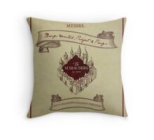 Marauders - Up to No Good & Managing Mischief Since 1971 Throw Pillow