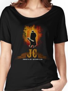 The Man In Black - Johnny Cash Women's Relaxed Fit T-Shirt