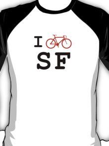 "I ""ride"" San Francisco T-Shirt"