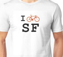 "I ""ride"" San Francisco Unisex T-Shirt"