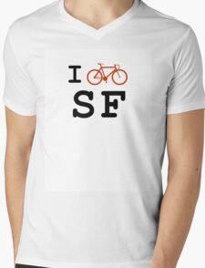 "I ""ride"" San Francisco Mens V-Neck T-Shirt"