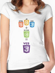 For Every Web Developer Women's Fitted Scoop T-Shirt