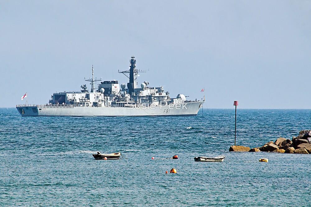 HMS Sutherland by Susie Peek