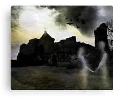 Ghostly Lovers Canvas Print