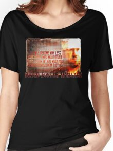 David Foster Wallace - Infinite Jest Quote Shirt Women's Relaxed Fit T-Shirt