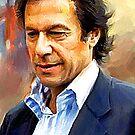 imran khan ( pakistans legendary cricketer ) by reebal