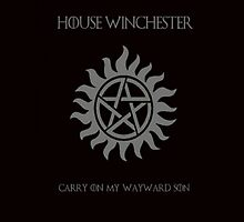 House of Winchester - Supernatural by redpants