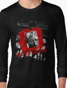 Charlie Manson Helter Skelter Tee Long Sleeve T-Shirt
