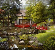Architecture - Japan - Tranquil moments  by Mike  Savad