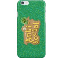 Animal Crossing Anti-Social iPhone Case/Skin