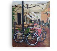 Italian Bicycles Metal Print