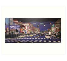 Music City Lights Art Print