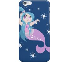 Blue and Pink Mermaid  iPhone Case/Skin