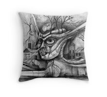 Sphinx Missile Launcher. Throw Pillow