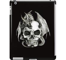 Dragon and Skull T-shirt iPad Case/Skin