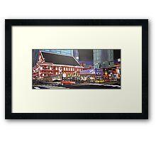 Cruising Nashville Framed Print