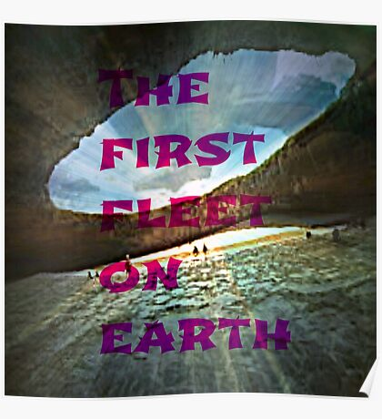 the first fleet on earth Poster