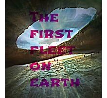 the first fleet on earth Photographic Print