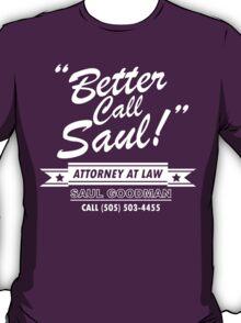 Better Call Saul - Breaking Bad T-Shirt
