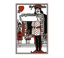 Alice In Wonderland; A Play. The Knave Of Hearts Photographic Print