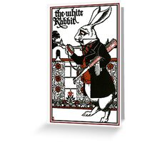 Alice In Wonderland; A Play. Greeting Card