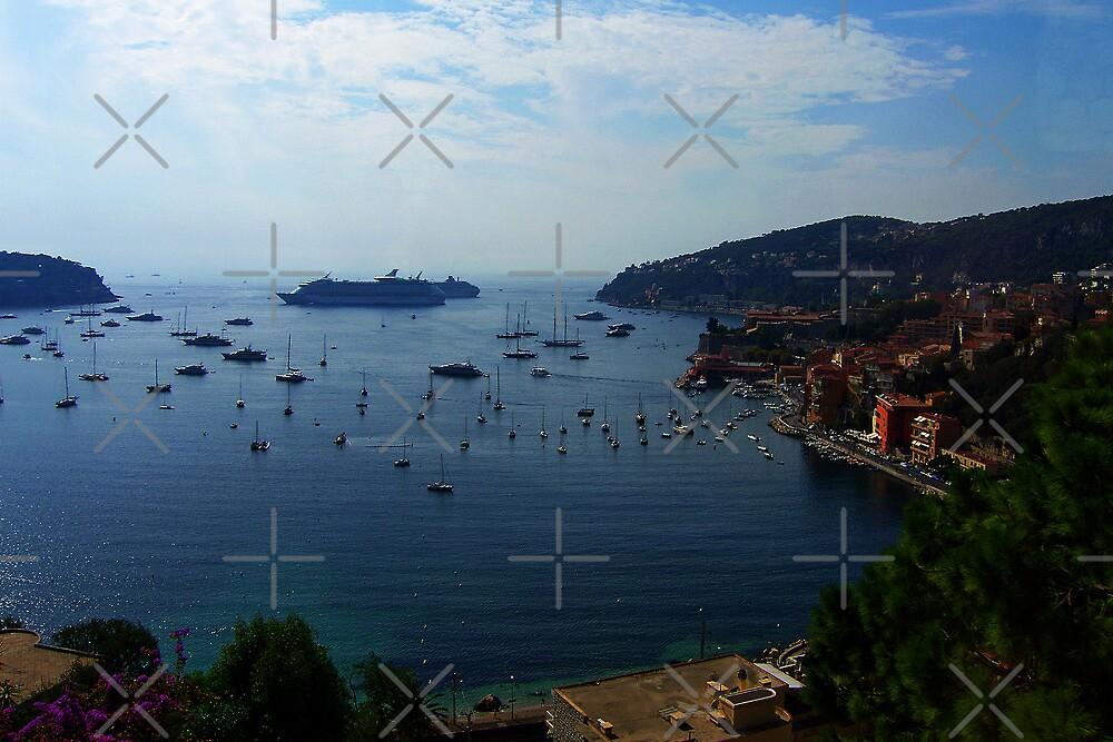 Villefranche  Bay by Tom Gomez