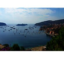 Villefranche  Bay Photographic Print