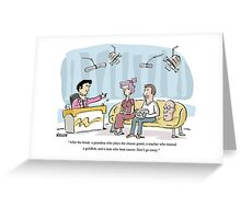 T.V show Greeting Card