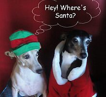Where's Santa? by CWCards2013