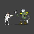 "Captain Ike ""Lazer"" Beem VS. The Baron Von VampIron! by Dave Sliozis"