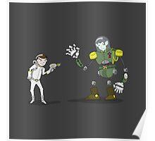 "Captain Ike ""Lazer"" Beem VS. The Baron Von VampIron! Poster"