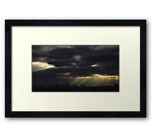 Untitled ( Sunbeam*) Framed Print